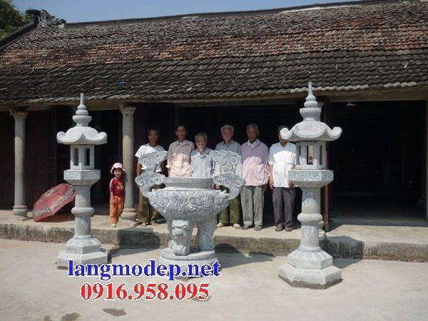 100 Mẫu lư hương đỉnh hương nhà thờ họ từ đường đình đền chùa miếu bằng đá đẹp bán tại sóc trăng
