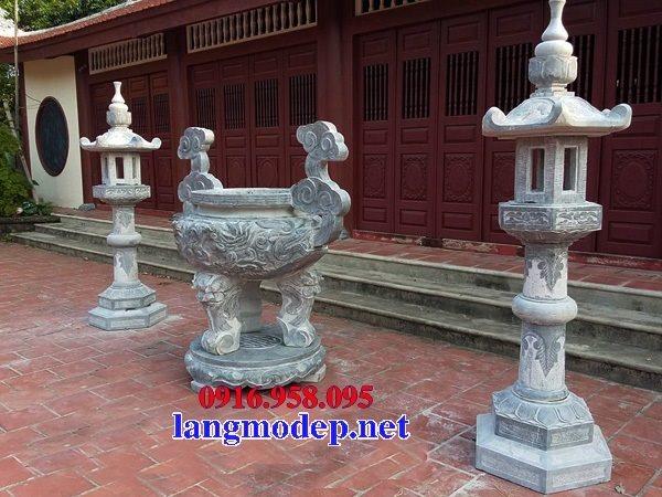 100 Mẫu lư hương đỉnh hương nhà thờ họ từ đường đình đền chùa miếu bằng đá đẹp bán tại thái nguyên