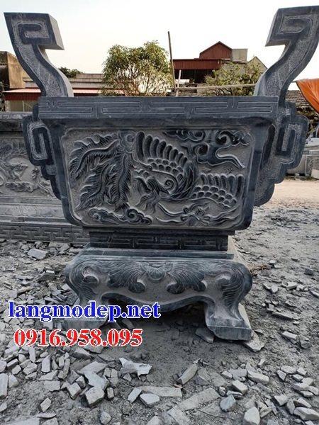 100 Mẫu lư hương đỉnh hương nhà thờ họ từ đường đình đền chùa miếu bằng đá đẹp bán tại thanh hóa