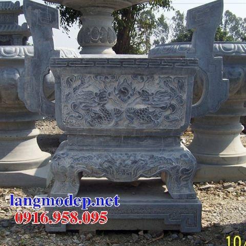 100 Mẫu lư hương đỉnh hương nhà thờ họ từ đường đình đền chùa miếu bằng đá đẹp bán tại trà vinh