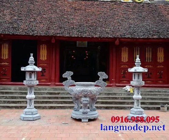 100 Mẫu lư hương đỉnh hương nhà thờ họ từ đường đình đền chùa miếu bằng đá đẹp bán tại vĩnh phúc