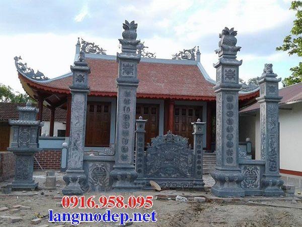 15 Bức bình phong cổng nhà thờ tổ tiên gia gia đình bằng đá đẹp nhất hiện nay thiết kế hiện đại 09