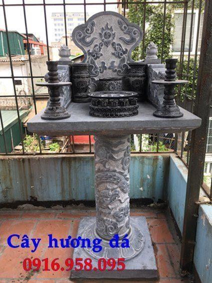 15 Mẫu cây hương thờ thân linh thiên địa mẫu cửu trùng ngoài trời đẹp bằng đá bán tại quảng ninh