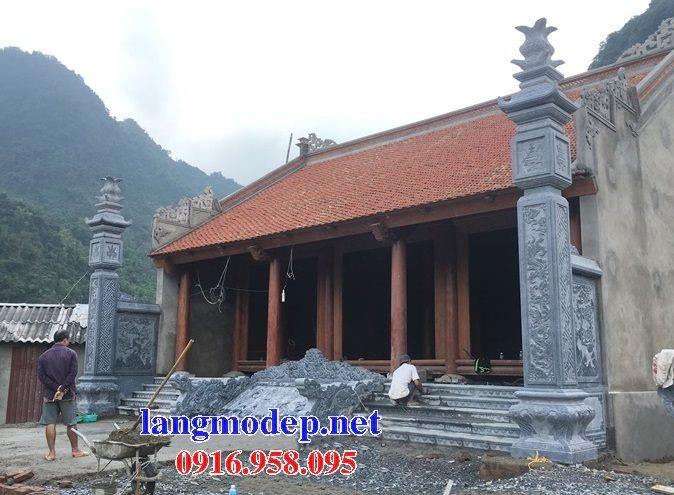 15 Mẫu cột đồng trụ nhà thờ họ đẹp bằng đá