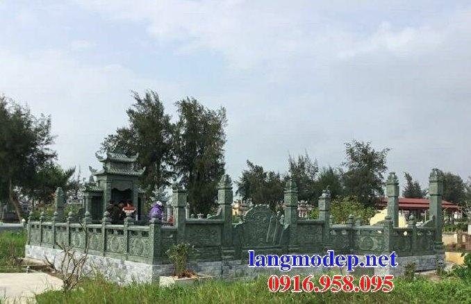 16 Mẫu bức bình phong nghĩa trang gia đình bằng đá đẹp nhất hiện nay bán toàn quốc 15