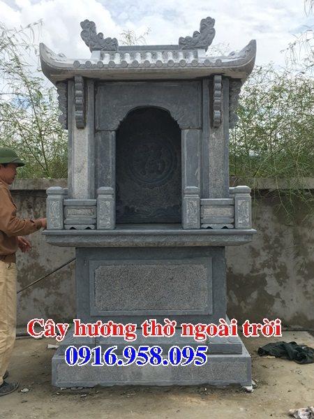 18 Mẫu bàn thờ thần linh thiên địa mẫu cửu trùng ngoài trời đẹp bằng đá bán tại bình dương