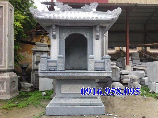 18 Mẫu bàn thờ thần linh thiên địa mẫu cửu trùng ngoài trời đẹp bằng đá bán tại bạc liêu