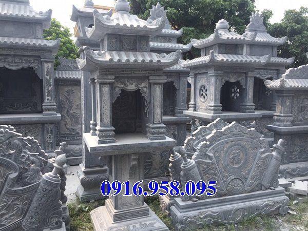 18 Mẫu bàn thờ thần linh thiên địa mẫu cửu trùng ngoài trời đẹp bằng đá bán tại bến tre