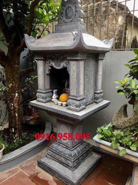 18 Mẫu bàn thờ thần linh thiên địa mẫu cửu trùng ngoài trời đẹp bằng đá bán tại cà mau