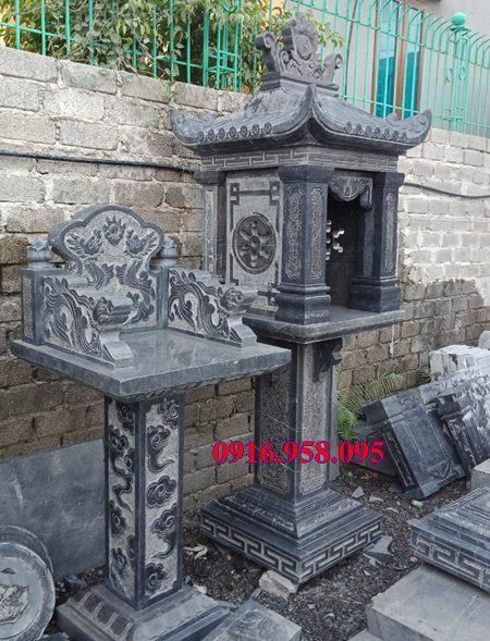 18 Mẫu bàn thờ thần linh thiên địa mẫu cửu trùng ngoài trời đẹp bằng đá bán tại cần thơ