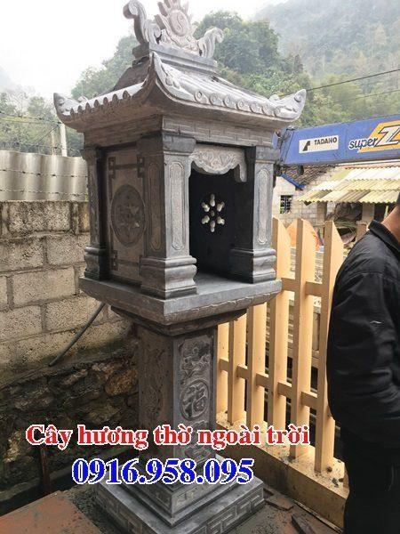18 Mẫu bàn thờ thần linh thiên địa mẫu cửu trùng ngoài trời đẹp bằng đá bán tại vĩnh long