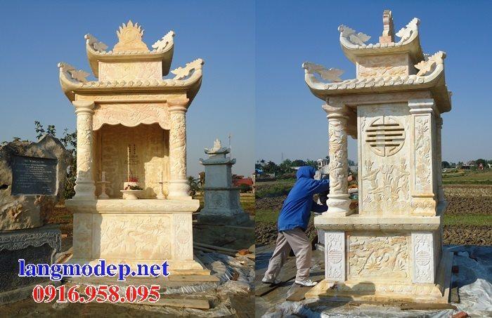 25 Mẫu lăng mộ đá cất để hài cốt tro cốt bán tại Sài Gòn Bà Rịa Vũng Tàu đẹp nhất hiện nay 22