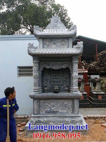 25 Mẫu lăng mộ đá cất để hài cốt tro cốt bán tại Sài Gòn Bạc Liêu đẹp nhất hiện nay 15