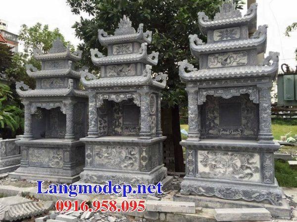25 Mẫu lăng mộ đá cất để hài cốt tro cốt bán tại Sài Gòn Tây Ninh đẹp nhất hiện nay 16