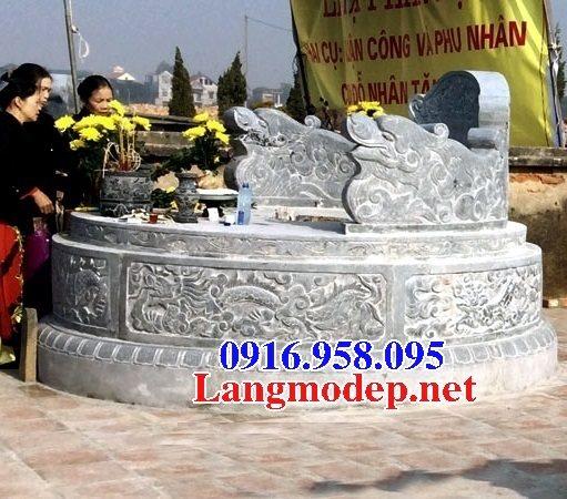 62 Mẫu mộ tròn bằng đá đẹp nhất hiện nay bán toàn quốc tại đăk lắk 76