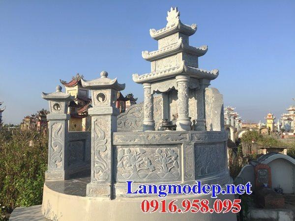 62 Mẫu mộ tròn bằng đá đẹp nhất hiện nay bán toàn quốc tại An Giang 65