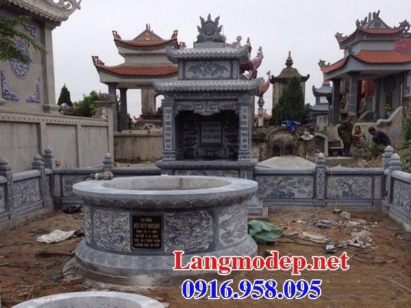 62 Mẫu mộ tròn bằng đá đẹp nhất hiện nay bán toàn quốc tại Tây Ninh 64