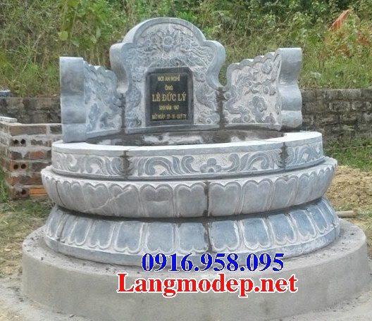 62 Mẫu mộ tròn bằng đá đẹp nhất hiện nay bán toàn quốc tại bình định 50