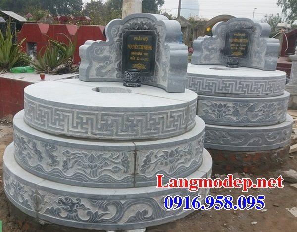 62 Mẫu mộ tròn bằng đá đẹp nhất hiện nay bán toàn quốc tại cần thơ 69