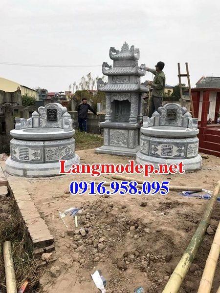 62 Mẫu mộ tròn bằng đá đẹp nhất hiện nay bán toàn quốc tại hà giang 37