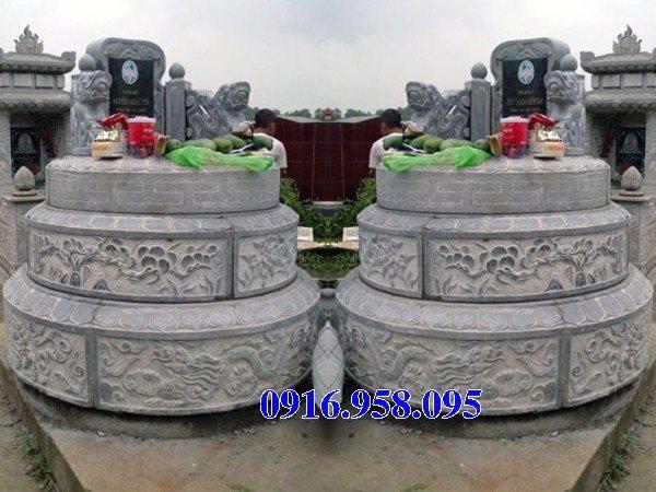 62 Mẫu mộ tròn bằng đá đẹp nhất hiện nay bán toàn quốc tại hòa bình 31