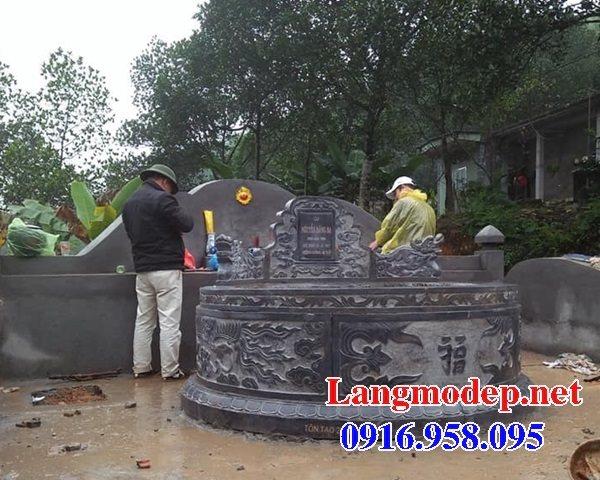 62 Mẫu mộ tròn bằng đá đẹp nhất hiện nay bán toàn quốc tại hưng yên 23