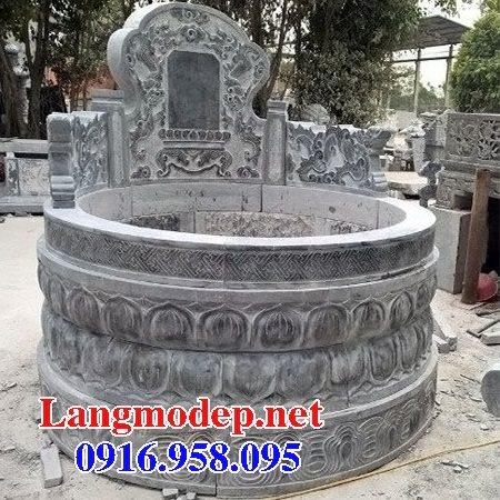 62 Mẫu mộ tròn bằng đá đẹp nhất hiện nay bán toàn quốc tại khánh hòa 52