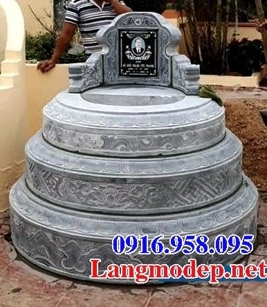 62 Mẫu mộ tròn bằng đá đẹp nhất hiện nay bán toàn quốc tại kom tum 75