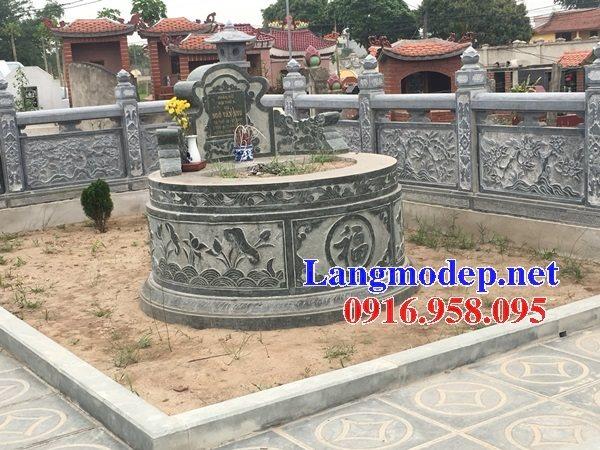 62 Mẫu mộ tròn bằng đá đẹp nhất hiện nay bán toàn quốc tại ninh bình 29