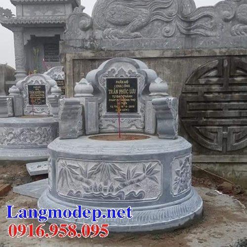 62 Mẫu mộ tròn bằng đá đẹp nhất hiện nay bán toàn quốc tại quảng nam 49