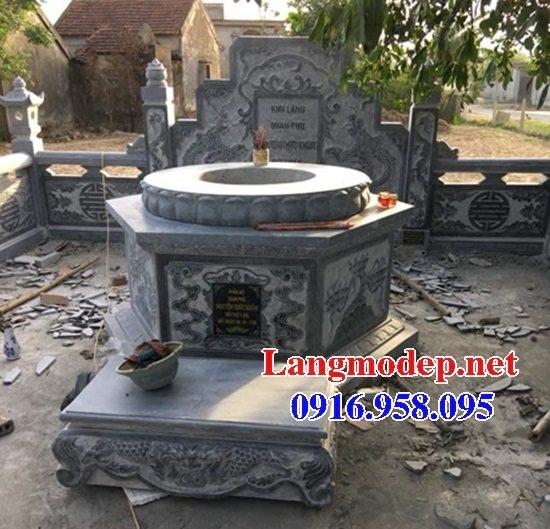 62 Mẫu mộ tròn bằng đá đẹp nhất hiện nay bán toàn quốc tại thái nguyên 34