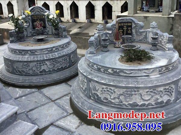 62 Mẫu mộ tròn bằng đá đẹp nhất hiện nay bán toàn quốc tại tiền giang 71