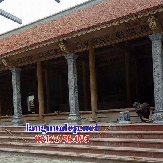 99 Mẫu cột đá nhà thờ họ từ đường đình chùa đẹp nhất hiện nay bán tại đắk lắk 99