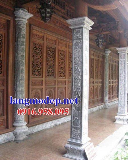 99 Mẫu cột đá nhà thờ họ từ đường đình chùa đẹp nhất hiện nay bán tại đồng nai 142