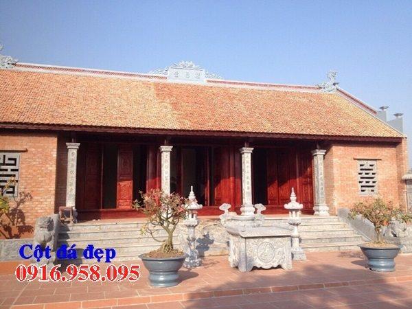 99 Mẫu cột đá nhà thờ họ từ đường đình chùa đẹp nhất hiện nay bán tại đồng tháp 94
