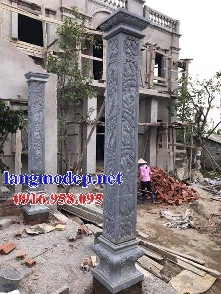 99 Mẫu cột đá nhà thờ họ từ đường đình chùa đẹp nhất hiện nay bán tại TP hồ chí minh 102