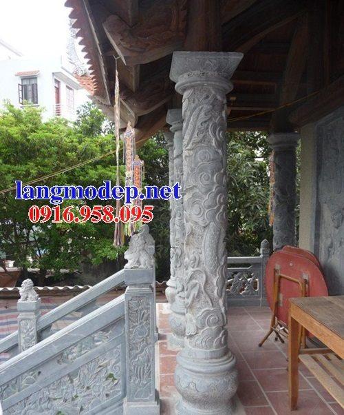 99 Mẫu cột đá nhà thờ họ từ đường đình chùa đẹp nhất hiện nay bán tại bạc liêu 145