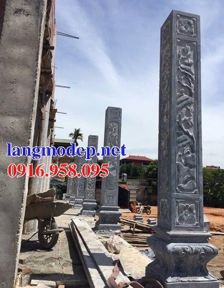 99 Mẫu cột đá nhà thờ họ từ đường đình chùa đẹp nhất hiện nay bán tại cà mau 147