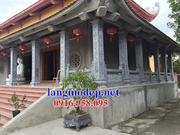 99 Mẫu cột đá nhà thờ họ từ đường đình chùa đẹp nhất hiện nay bán tại hải dương 108