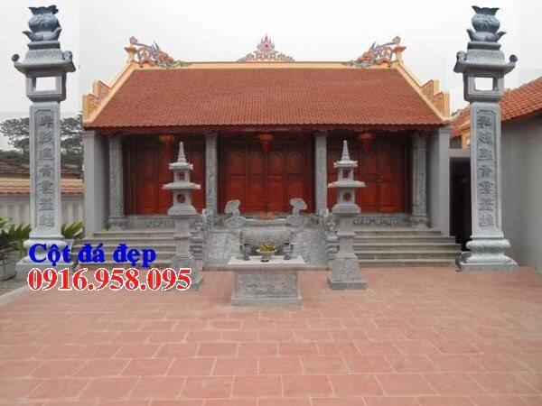 99 Mẫu cột đá nhà thờ họ từ đường đình chùa đẹp nhất hiện nay bán tại hậu giang 95