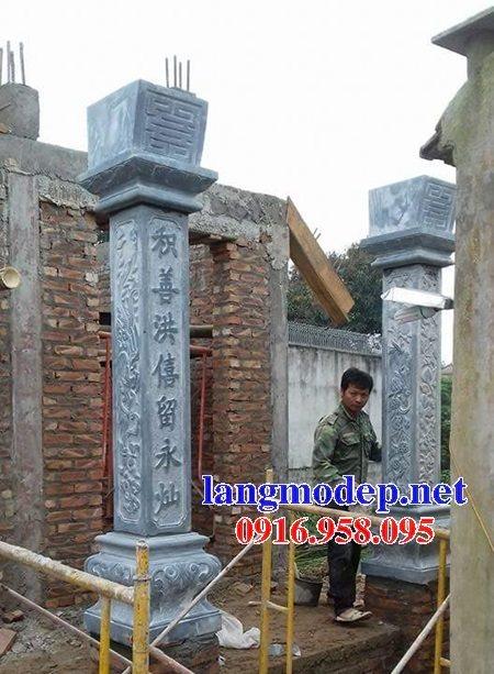 99 Mẫu cột đá nhà thờ họ từ đường đình chùa đẹp nhất hiện nay bán tại khánh hòa 137