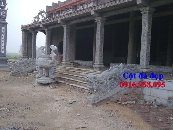 99 Mẫu cột đá nhà thờ họ từ đường đình chùa đẹp nhất hiện nay bán tại kiên giang 93