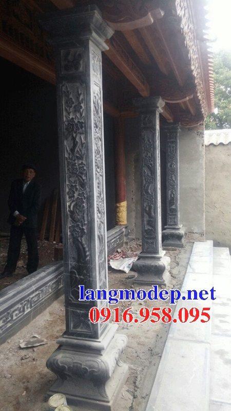 99 Mẫu cột đá nhà thờ họ từ đường đình chùa đẹp nhất hiện nay bán tại lâm đồng 101