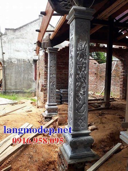 99 Mẫu cột đá nhà thờ họ từ đường đình chùa đẹp nhất hiện nay bán tại quảng nam 130