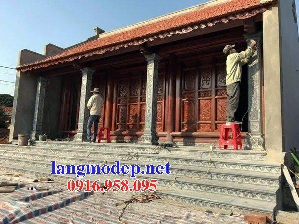 99 Mẫu cột đá nhà thờ họ từ đường đình chùa đẹp nhất hiện nay bán tại quảng ngãi 133