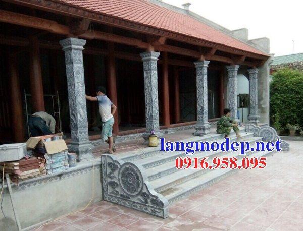 99 Mẫu cột đá nhà thờ họ từ đường đình chùa đẹp nhất hiện nay bán tại sóc trăng153