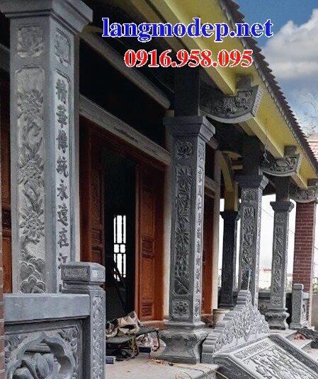 99 Mẫu cột đá nhà thờ họ từ đường đình chùa đẹp nhất hiện nay bán tại sơn la 119