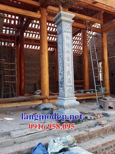 99 Mẫu cột đá nhà thờ họ từ đường đình chùa đẹp nhất hiện nay bán tại yên bái 121