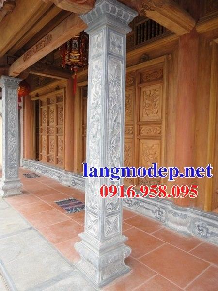 99 Mẫu cột đá vuông nhà gỗ đẹp nhất hiện nay 16