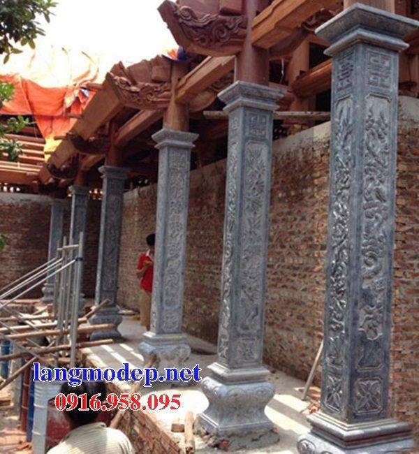 99 Mẫu cột đá vuông nhà gỗ đẹp nhất hiện nay 22